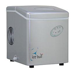 Icebull Machine à glace 15 kg/jour, 1kg réservoir cône creux