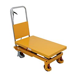 Kibernetik Table élévatrice manuelle ciseaux 300 kg, plage de levage 90 cm