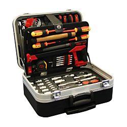Holmberg Coffre d'outils mobile 136 pièces