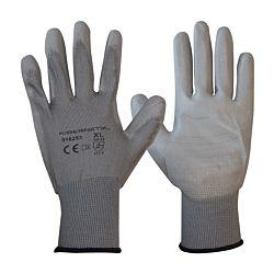 Kibernetik Gants de travail grandeur XL, polyester, 12 paires