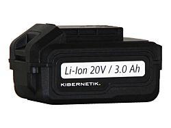 Kibernetik Akku 20 V zu Akku-Bohrschrauber Li-Ion 20 V / 3.0 Ah