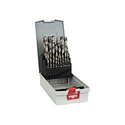 Bosch Metallbohrer-Set ProBox HSS-G 135°, 25-teilig