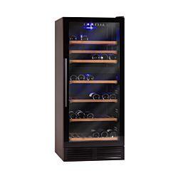 COLDTEC Weinklimaschrank 100 Flaschen 2 Zonen