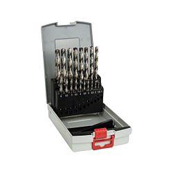 Bosch Set de forets à métaux ProBox HSS-G 135°, 19 pièces