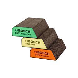 Bosch Schleifschwamm 3er-Set medium, fine, superfine