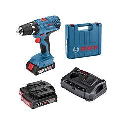 Bosch Perceuse-visseuse sans fil GSR 18V-21 Professional, 2 x 2.0 Ah