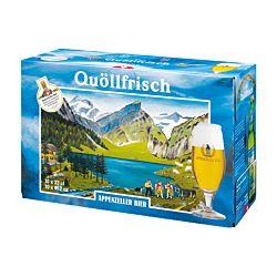Appenzeller Bier Quöllfrisch Hell 10 x 33 cl