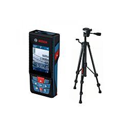 Bosch Laser-Entfernungsmesser Professional GLM 120C, inkl. BT 150 0 Stativ
