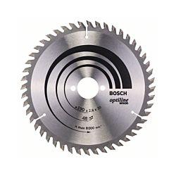 Bosch Kreissägeblatt Optiline Wood 190 mm