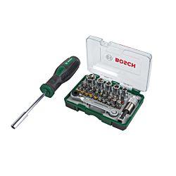 Bosch Set de mini-cliquets incl. tournevis 27 pièces