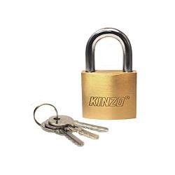 Kinzo Vorhängeschloss mit 3 Schlüssel