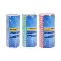 FS-STAR Roulau de lavettes multi-usage, 50 pièces