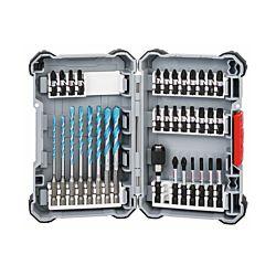Bosch Set d'embouts de vissage et perçage Impact Control Multi Construction, 35 pièces