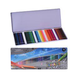 FS-STAR Crayons de couleur 50 pièces