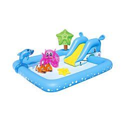 Bestway Piscine pour enfants Fantastic Aquarium 239 x 206 x 86cm