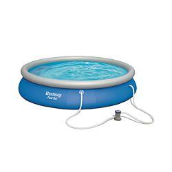 Bestway Set de piscine Fast incl. pompe de filtrage Ø 457 x 84 cm