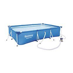 Bestway Pool Steel Pro 300 x 201 x 66 cm, incl. pompe de filtrage