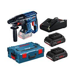 Bosch Marteau perforateur GBH 18V-20, GAL 18V-40, 2 x 4.0Ah ProCORE batterie, incl. coffre