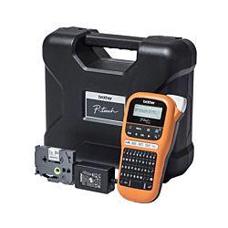 Brother P-touch Beschriftungsgerät E110VP, inkl. Koffer