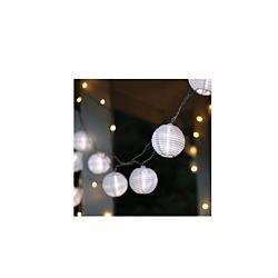 dameco LED Lichterkette mit 10 Baumwollbällen