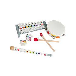Janod Musikalisches-Set für Kinder, 4-teilig