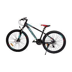 Phoenix Mountain Bike 26 pouces noir / turquois