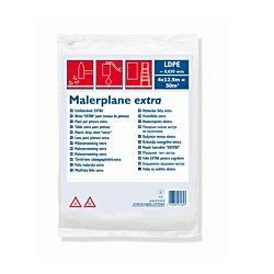 Color Expert Malerplane extra 4 x 12.5m (50m2) 0.030mm