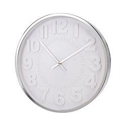 FS-STAR Horloge 40.5cm argent