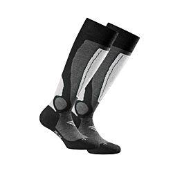 Rohner Socken Herren Ski 2er Pack hellgrau Gr.43/46