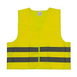 All Ride Gilet de sécurité reflétant jaune