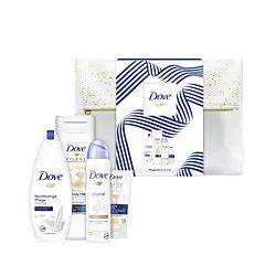 Dove Dusch-Set Pflegedusche 250 ml / Body Milk 400ml / Deospray 150 ml / Handcreme 75 ml