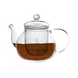 Berlinger Haus Teekanne aus Glas mit Filter 1 Liter