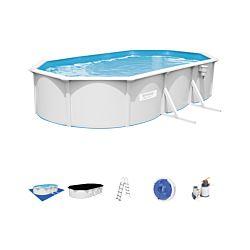 Bestway Hydrium Oval Pool Set 610 x 360 x 120 cm inkl. Filterpumpe