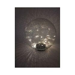 FS-STAR Solarkugel Crackle-Glas 25 cm