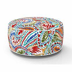 dameco Sitzhocker aufblasbar Capri Design