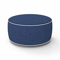 dameco Sitzhocker aufblasbar dunkelblau