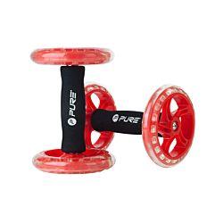 Pure Core Training Wheel noir/rouge
