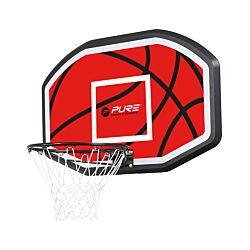 Pure Basketballrückwand mit Korb