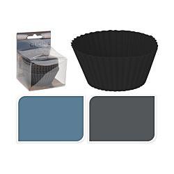 FS Star Muffin-oder Kuchenförmchen-Set, 7cm, 3 versch. Farben