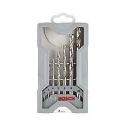 Bosch Jeu de forets Mini X-Line HSS-G 7 pièces