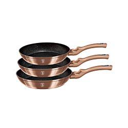 Berlinger Haus Set de poêles Metallic Line Rose Gold Edition
