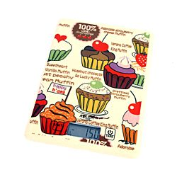 Adler Küchenwaage Muffin Design