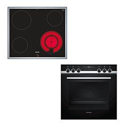 Siemens EA645GFA1C + HE517ABS0C Set de four et cuisinière
