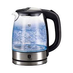 Berlinger Haus Wasserkocher Glas 1.7 Liter Chromstahl