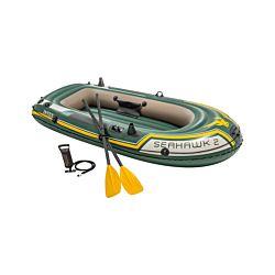 INTEX Outdoorboot-Set Seahawk 2 mit Paddel und Pumpe