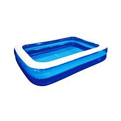 FS-STAR Familien Pool transparent-blau 262x175x51cm