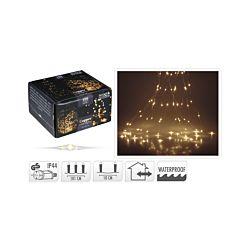 FS-STAR Silberdraht Beleuchtung 100 LED
