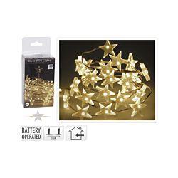 FS-STAR LED Silberdraht mit Sternen