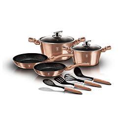 Berlinger Haus Set de cuisine 10 pièces Rose Gold