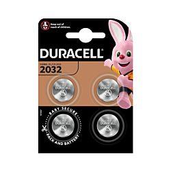 Duracell Lithium-Knopfzellen CR2032